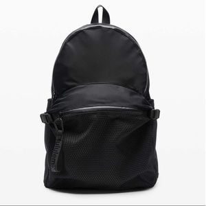 NEW wTag-LULULEMON Black All Hours Backpack